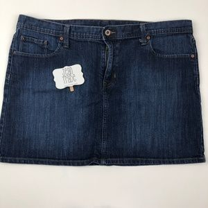 GAP Jeans Mini Jean Skirt